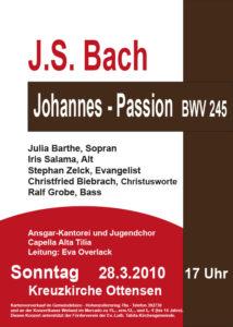 Archiv, Konzert, Bach-Chor Hamburg